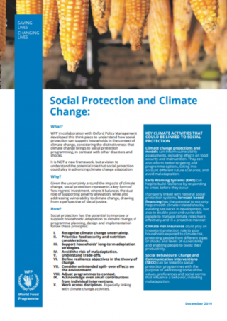 Social Protection and Climate Change-cover