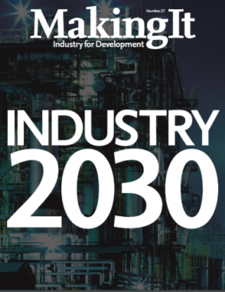 Industy 2030. Innovate. Connect. Transform our Future. Making It Magazine.