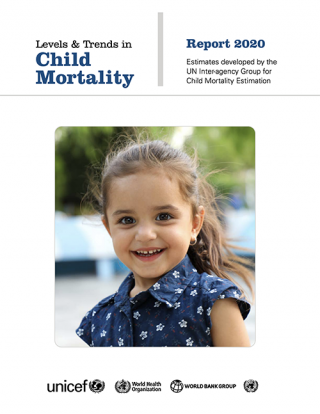 Cover Levels and trends in child mortality 2020