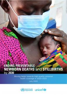 Cover Ending preventable newborn deaths and stillbirths by 2030