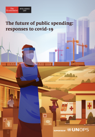 Cover The future of public spending