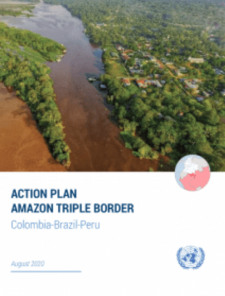 "Portada publicación ""Action Plan Amazon Triple Border: Colombia-Brazil-Peru"""