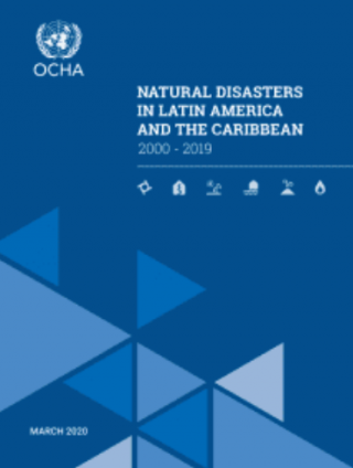 Latin America and the Caribbean is the second most disaster-prone region in the world, with 152 million people affected by 1,205 disasters between 2000 and 2019.
