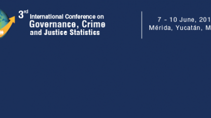 3rd International Conference on Governance, Crime and Justice Statistics