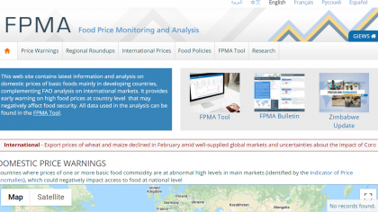 Food price Monitoring and analisys