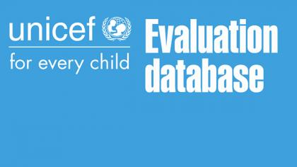 UNICEF Evaluation Events