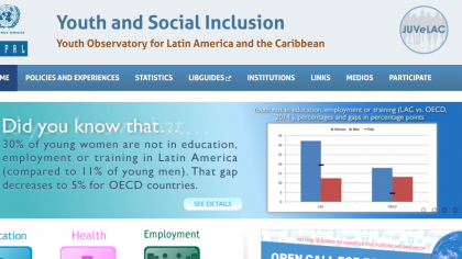 cover-Youth and Social Inclusion: Youth Observatory for Latin America and the Caribbean